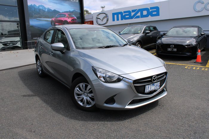 2015 Mazda 2 Neo DL Series Silver