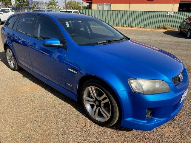 2009 HOLDEN COMMODORE SS VE MY09.5 Voodoo Blue