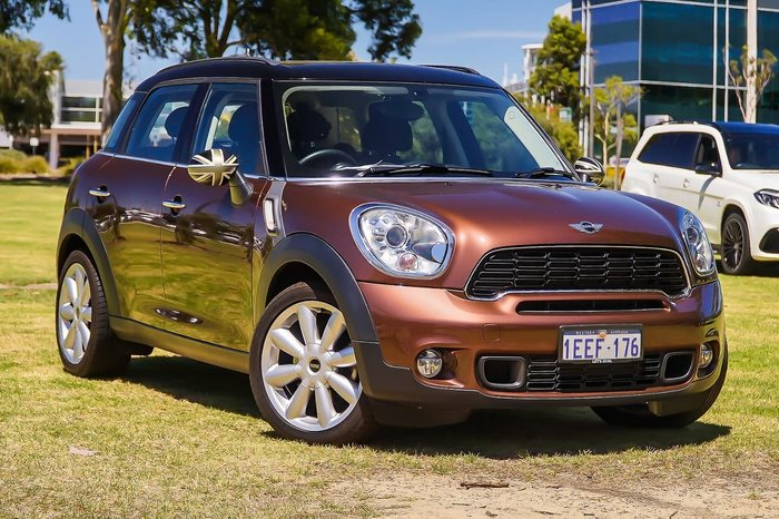 2013 MINI Countryman Cooper S R60 Brown
