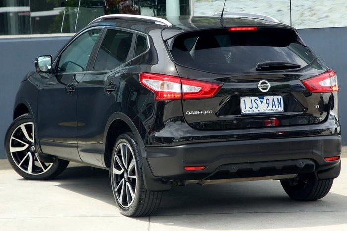 2017 Nissan QASHQAI Ti J11 Black
