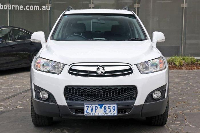 2013 Holden Captiva 7 CX CG MY13 4X4 On Demand White