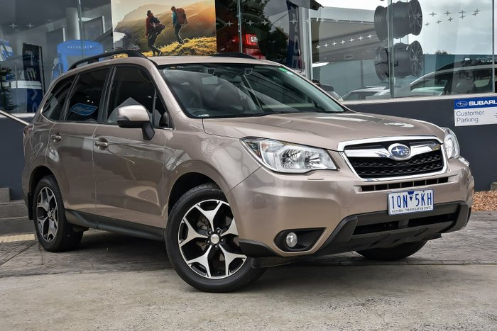2013 Subaru Forester 2.5i-S S4 MY13 Four Wheel Drive Bronze