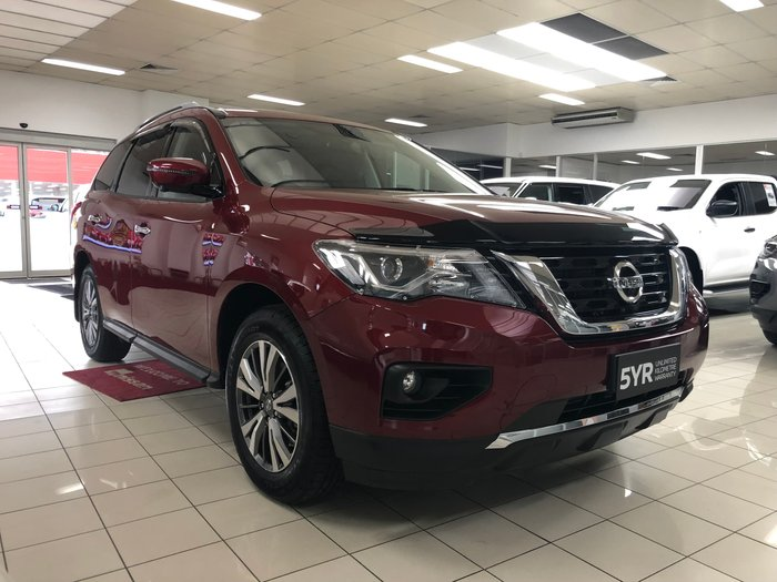 2019 Nissan Pathfinder ST-L R52 Series III MY19 Red