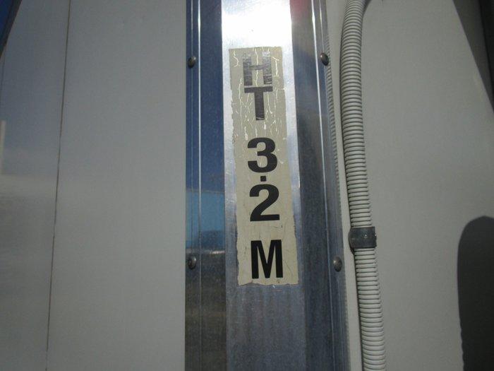 2008 Isuzu NPR300 REFRIGERATED PAN WHITE