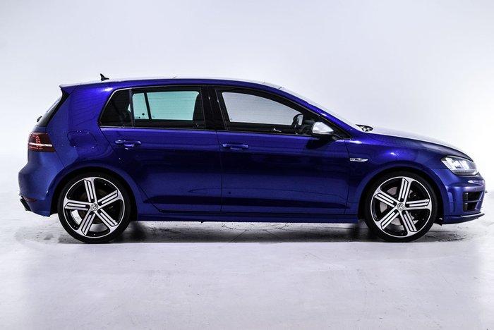2015 Volkswagen Golf R 7 MY15 Four Wheel Drive Blue