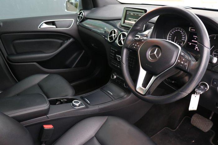 2013 Mercedes-Benz B-Class B200 W246 Silver