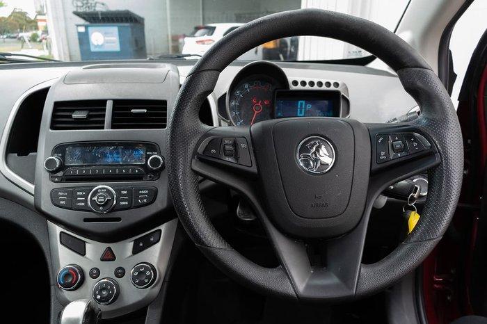 2014 Holden Barina CD TM MY14 Red