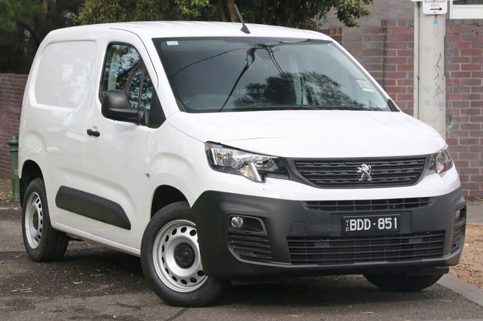2019 Peugeot Partner 130 THP K9 MY19 White