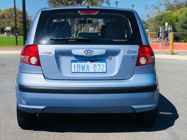 2005 Hyundai Getz FX TB MY05 Baby Blue