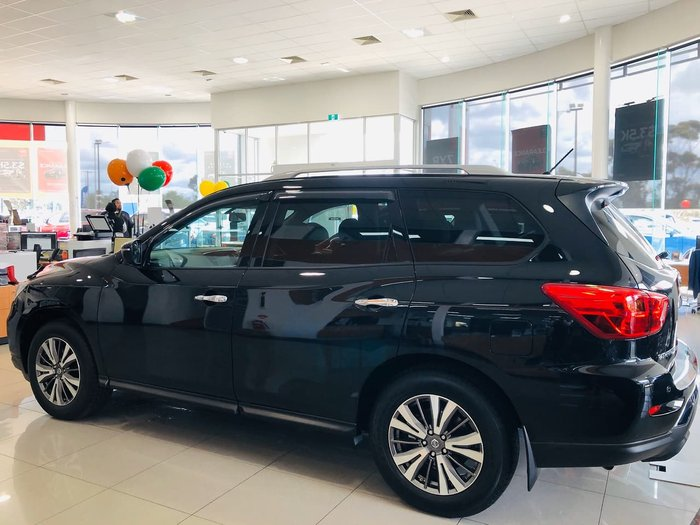 2018 Nissan Pathfinder ST-L R52 Series II MY17 4X4 On Demand Black
