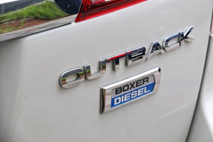 2013 Subaru Outback 2.0D Premium 4GEN MY14 Four Wheel Drive White