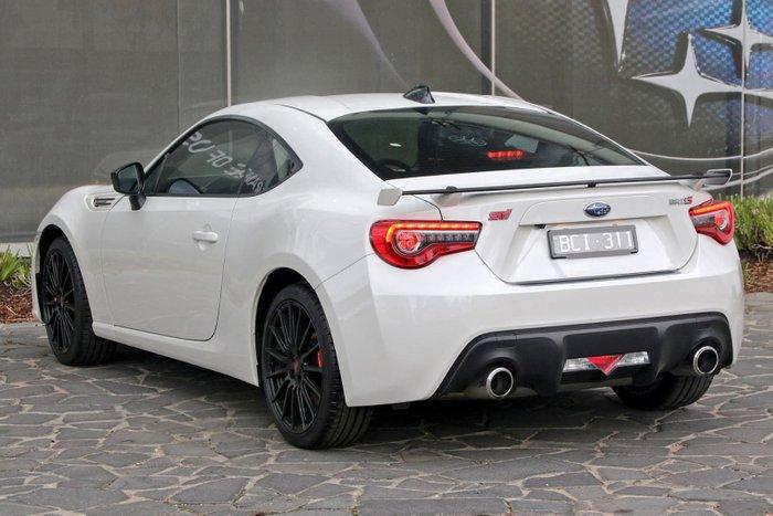 2019 Subaru BRZ tS Z1 MY20 White