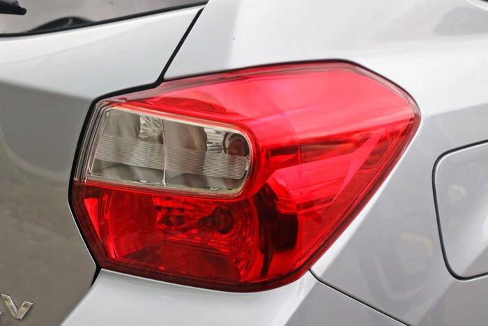 2013 Subaru XV 2.0i-L G4X MY13 Four Wheel Drive Silver