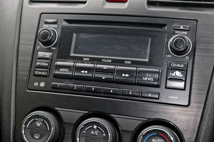 2012 Subaru XV 2.0i G4X MY12 Four Wheel Drive Grey