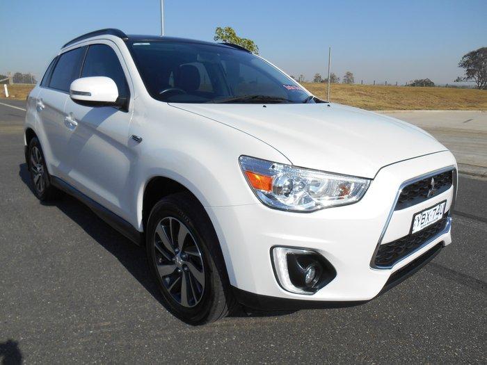2014 Mitsubishi ASX XLS XB MY15 4X4 Constant White