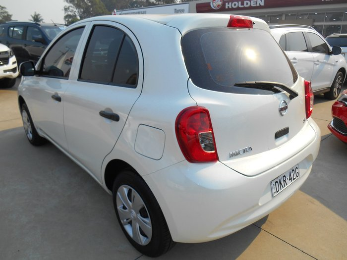 2016 Nissan Micra ST K13 MY15 White