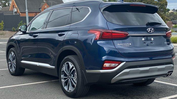 2019 Hyundai Santa Fe Highlander TM.2 MY20 4X4 On Demand Blue