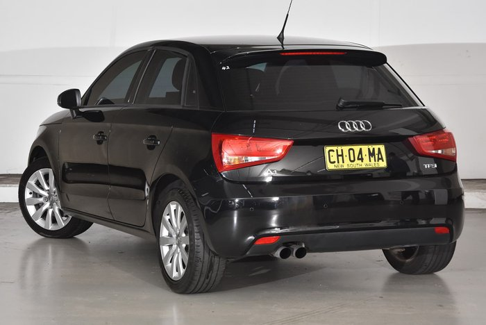 2015 Audi A1 Attraction 8X MY14 Black