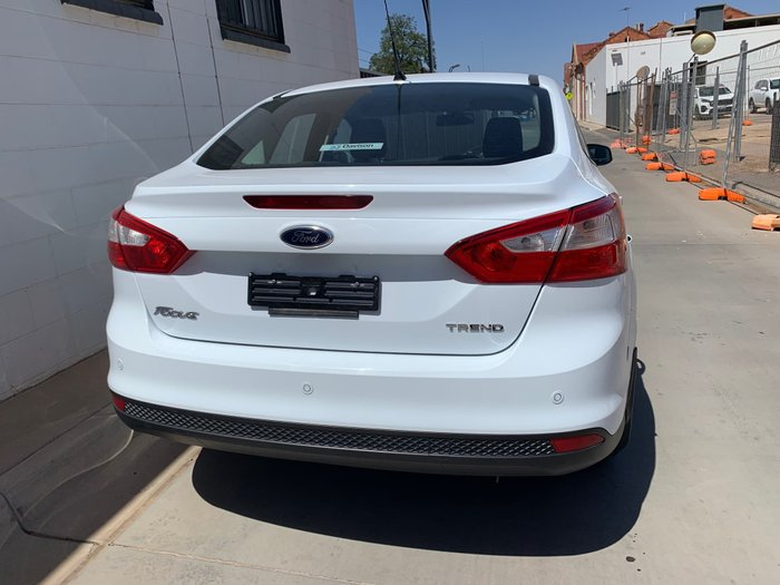 2013 Ford Focus Trend LW MKII White