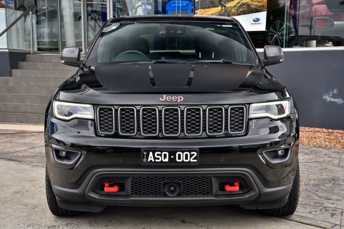 2018 Jeep Grand Cherokee Trailhawk WK MY18 4X4 Dual Range Black