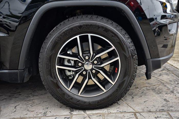 2018 Jeep Grand Cherokee Trailhawk WK MY18 4X4 Dual Range Black