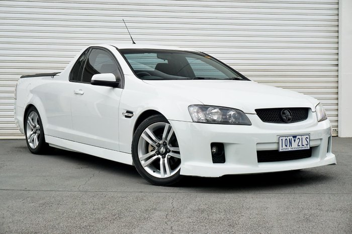 2010 Holden Ute SV6 VE Series II White