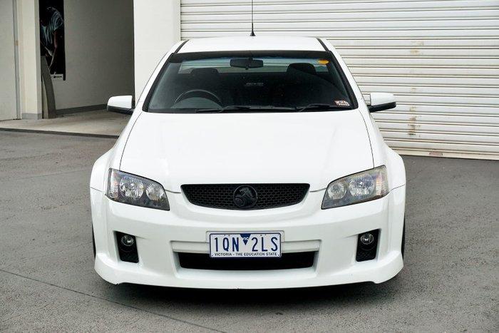 2010 Holden Ute SV6 VE Series II White
