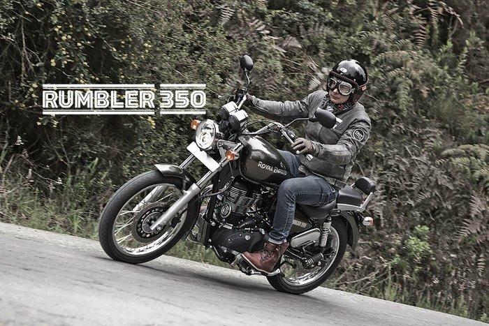 2018 Royal Enfield Rumbler 350