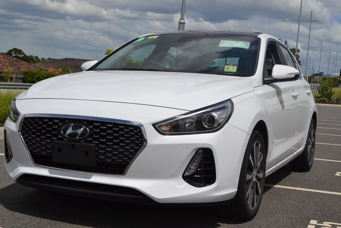 2019 Hyundai i30 Elite PD2 MY20 White