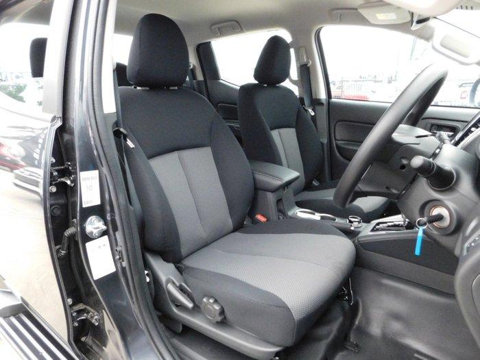 2019 Mitsubishi Triton GLX+ MR MY20 4X4 Dual Range Graphite Grey