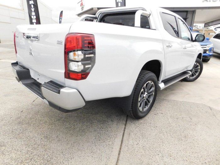 2019 Mitsubishi Triton GLS MR MY20 4X4 Dual Range White Diamond