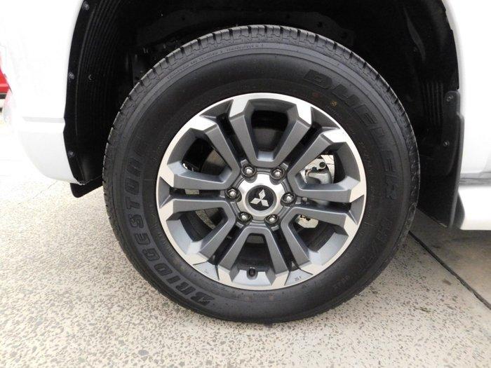 2019 Mitsubishi Triton GLS MR MY20 4X4 Dual Range White Diamond