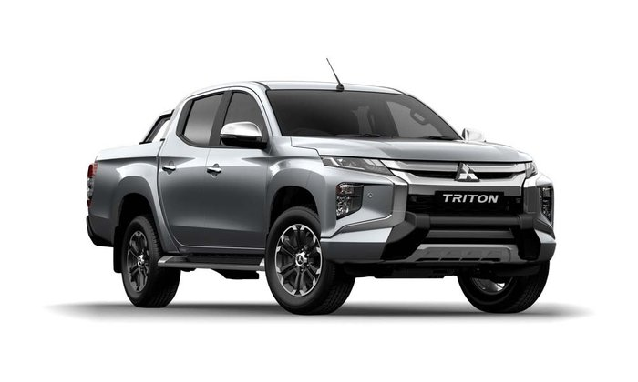 2019 Mitsubishi Triton GLS Premium MR MY20 4X4 Dual Range Sterling Silver