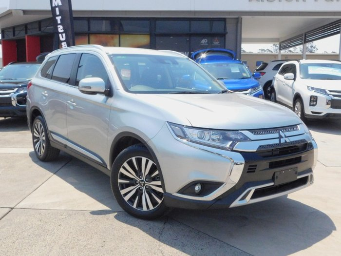 2019 Mitsubishi Outlander LS ZL MY20 4X4 On Demand Sterling Silver