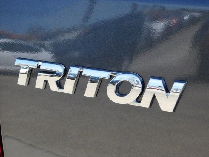 2019 Mitsubishi Triton GLS MR MY20 4X4 Dual Range Graphite Grey