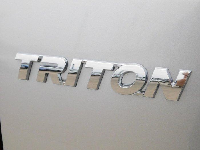 2019 Mitsubishi Triton GLX MR MY20 4X4 Dual Range Sterling Silver
