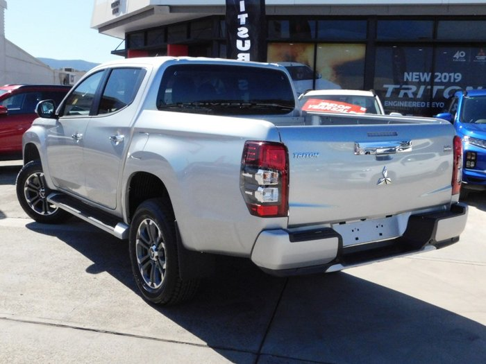 2020 Mitsubishi Triton GLS Double Cab Pick Up 4WD MR Sterling Silver