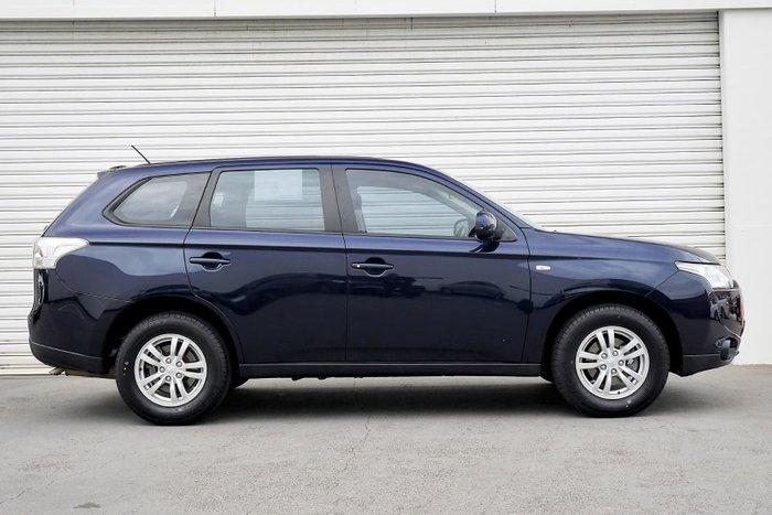 2013 Mitsubishi Outlander ES ZJ MY13 Blue