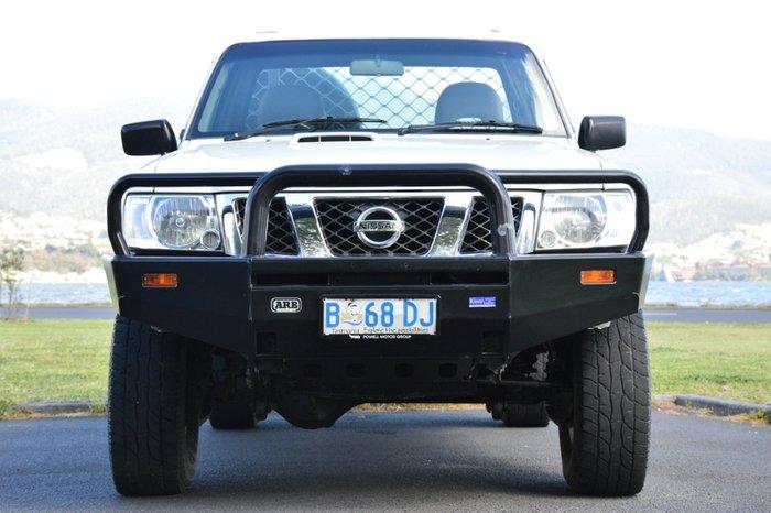2009 Nissan Patrol DX GU 6 MY08 4X4 Dual Range WHITE