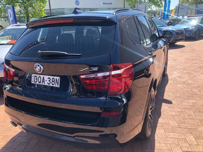 2015 BMW X3 xDrive20d F25 LCI 4X4 Constant Blue