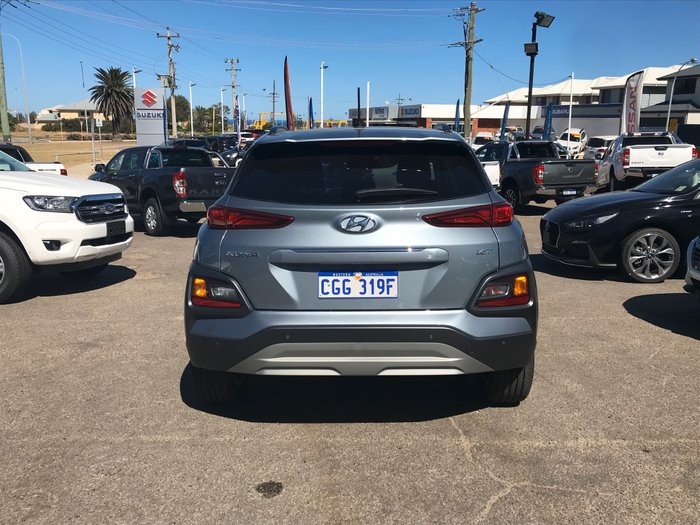 2018 Hyundai Kona Elite OS MY18 4X4 On Demand Silver