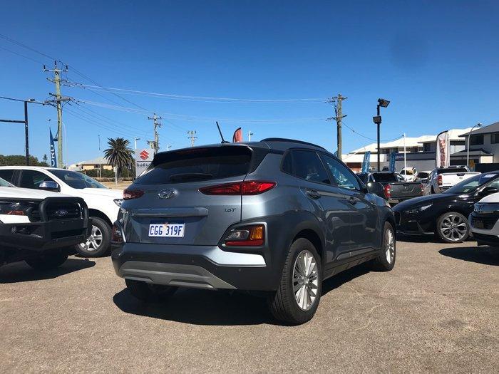 2018 Hyundai Kona Elite OS MY18 4X4 On Demand Silver