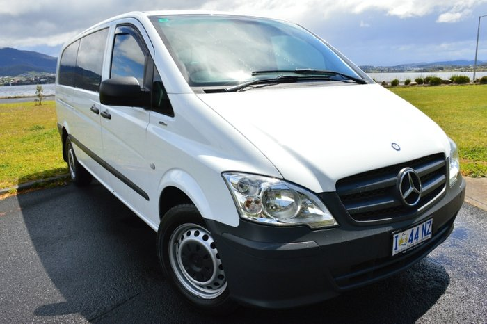 2015 Mercedes-Benz Vito 116CDI 639 WHITE