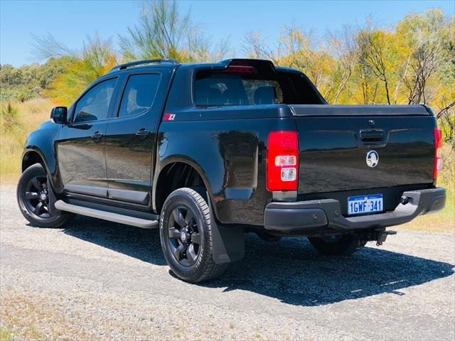 2015 Holden Colorado Z71 RG MY16 4X4 Dual Range BLACK