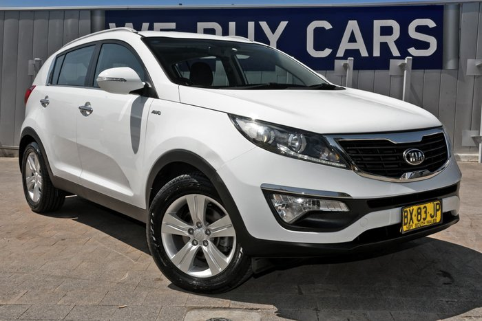 2013 Kia Sportage SLi SL Series II MY13 4X4 On Demand White