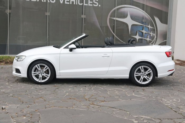 2016 Audi A3 Attraction 8V MY16 White