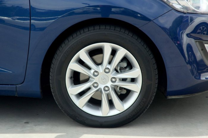 2013 Hyundai i30 Elite GD MY14 Blue
