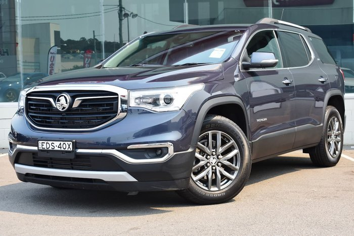 2018 Holden Acadia LTZ AC MY19 4X4 On Demand Blue