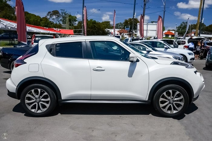 2019 Nissan JUKE Ti-S F15 MY18 4X4 On Demand White