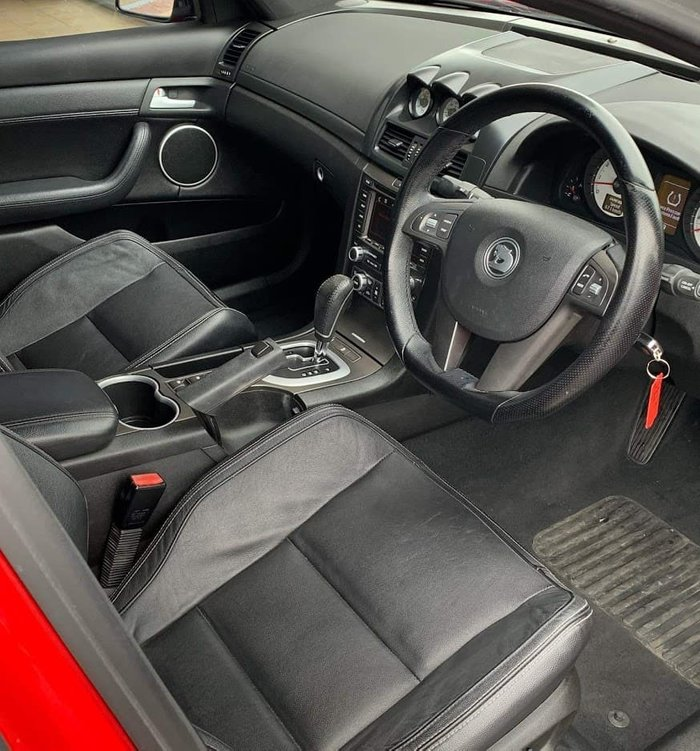 2010 Holden Special Vehicles Clubsport R8 E Series 2 Red